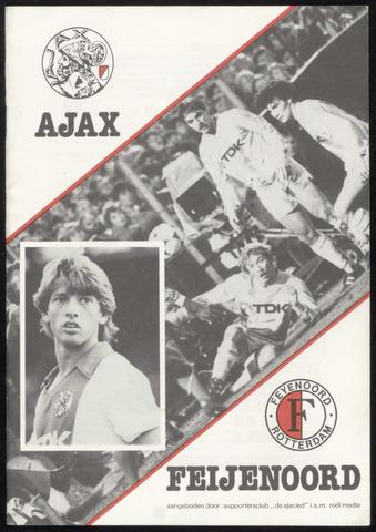 Clubblad De Ajacied (1997-2009) 1983