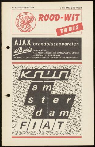 Programmaboekjes (vanaf 1934) 1969-12-07