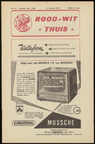 Programmaboekjes (vanaf 1934) 1957-10-13