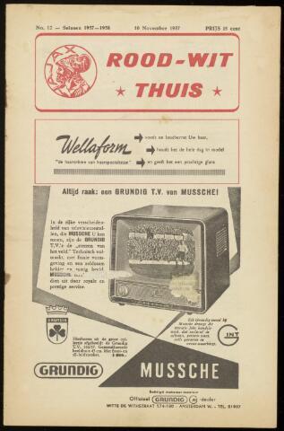 Programmaboekjes (vanaf 1934) 1957-11-10