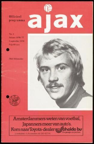 Programmaboekjes (vanaf 1934) 1976-09-01
