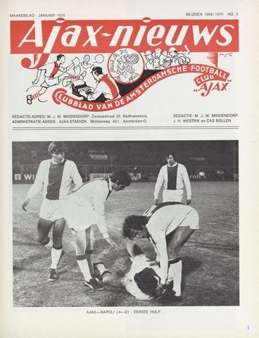 Clubnieuws Ajax (vanaf 1916) 1970-01-01