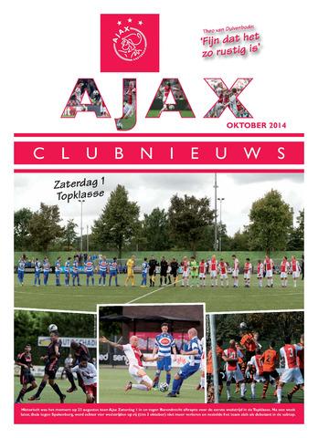 Clubnieuws Ajax (vanaf 1916) 2014-10-01