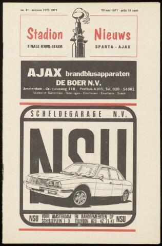 Programmaboekjes (vanaf 1934) 1971-05-20