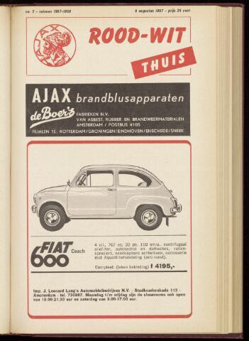Programmaboekjes (vanaf 1934) 1967-08-09