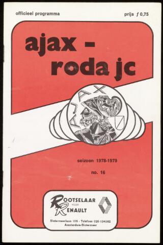Programmaboekjes (vanaf 1934) 1978-11-19
