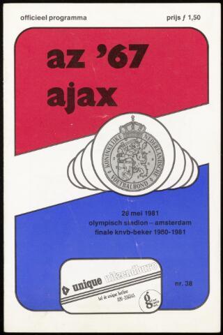 Programmaboekjes (vanaf 1934) 1981-05-28
