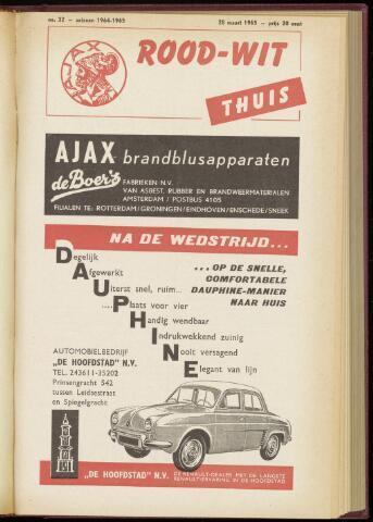 Programmaboekjes (vanaf 1934) 1965-03-28