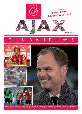 Clubnieuws Ajax (vanaf 1916) 2016-05-01