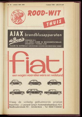 Programmaboekjes (vanaf 1934) 1966-01-02