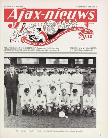 Clubnieuws Ajax (vanaf 1916) 1969-07-01
