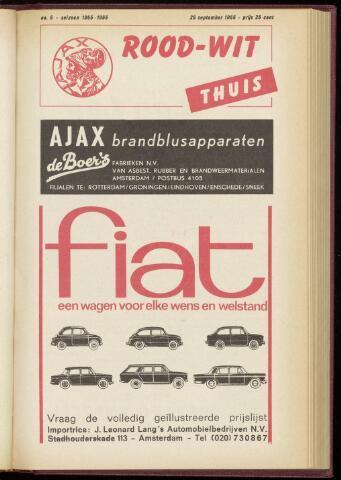 Programmaboekjes (vanaf 1934) 1965-09-26