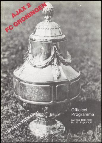 Programmaboekjes (vanaf 1934) 1987-11-14