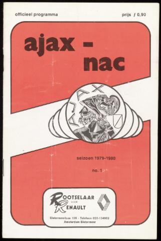 Programmaboekjes (vanaf 1934) 1979-08-22