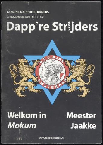 Fanzine Dapp're Strijders (2003-2005) 2003-11-23