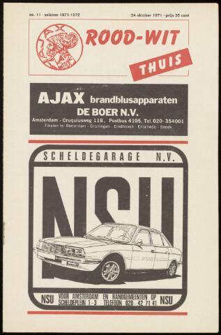 Programmaboekjes (vanaf 1934) 1971-10-24