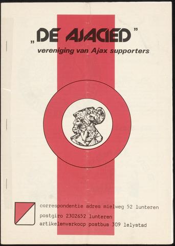 Clubblad De Ajacied (1997-2009) 1979-03-01