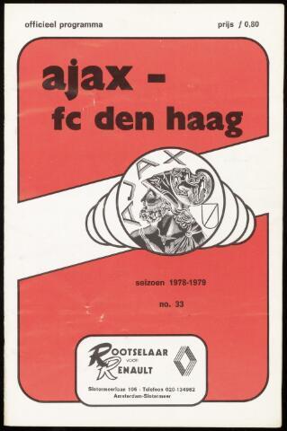 Programmaboekjes (vanaf 1934) 1979-05-27