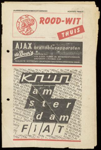 Programmaboekjes (vanaf 1934) 1970-07-29