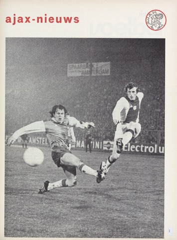 Clubnieuws Ajax (vanaf 1916) 1973-02-01