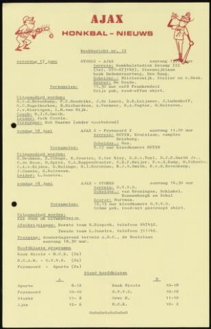 Honkbal nieuws (1963-1972) 1972-06-17