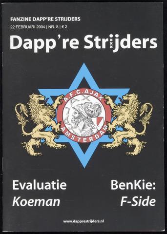 Fanzine Dapp're Strijders (2003-2005) 2004-02-22