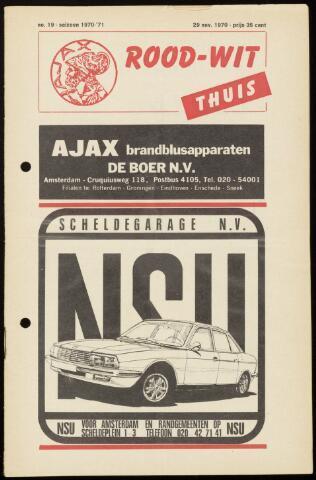 Programmaboekjes (vanaf 1934) 1970-11-29