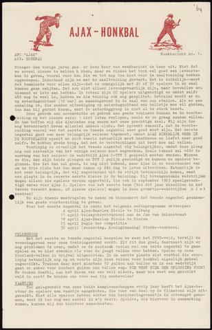 Honkbal nieuws (1963-1972) 1964