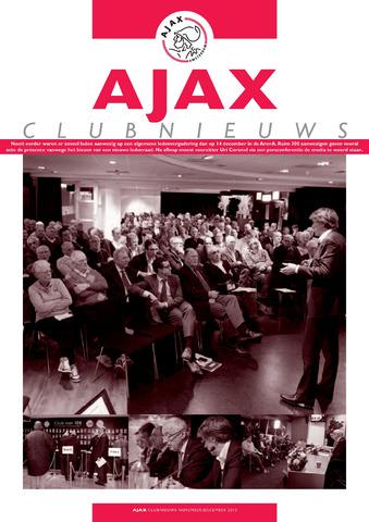 Clubnieuws Ajax (vanaf 1916) 2010-11-01