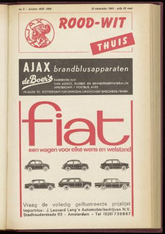 Programmaboekjes (vanaf 1934) 1965-09-19