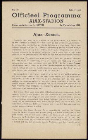 Programmaboekjes (vanaf 1934) 1942-04-06