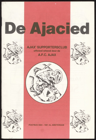 Clubblad De Ajacied (1997-2009) 1981