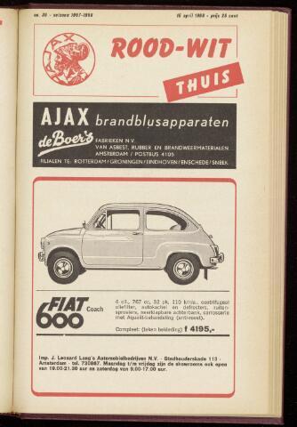 Programmaboekjes (vanaf 1934) 1968-04-15