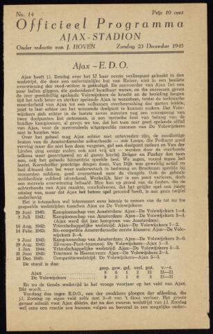 Programmaboekjes (vanaf 1934) 1945-12-23