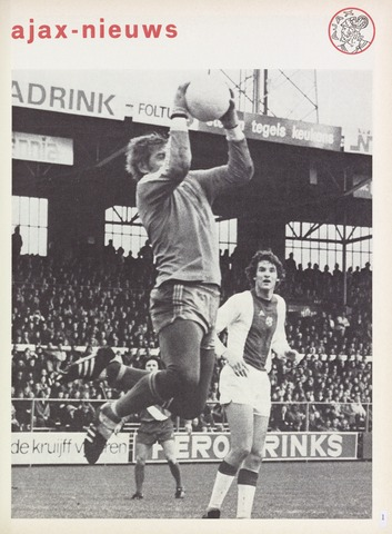 Clubnieuws Ajax (vanaf 1916) 1976-01-01