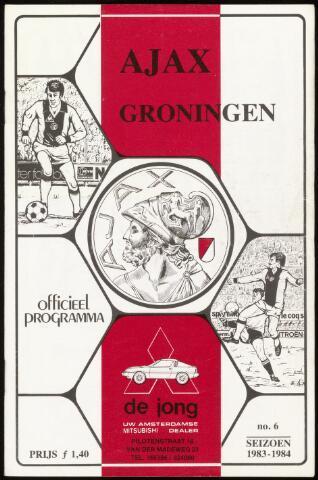 Programmaboekjes (vanaf 1934) 1983-10-02