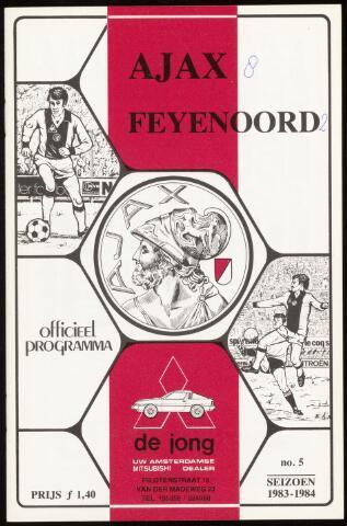 Programmaboekjes (vanaf 1934) 1983-09-18