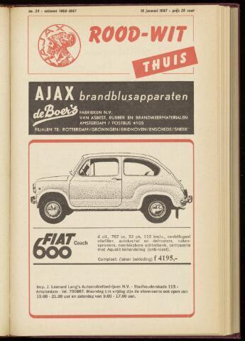 Programmaboekjes (vanaf 1934) 1967-01-15