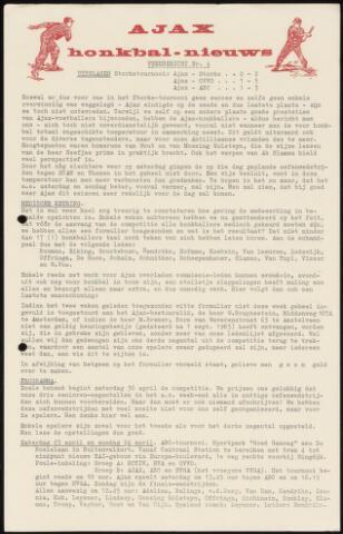 Honkbal nieuws (1963-1972) 1966-04-18