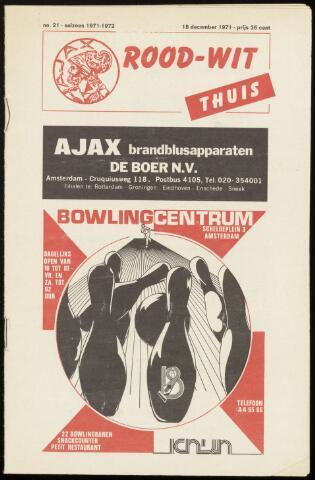 Programmaboekjes (vanaf 1934) 1971-12-18