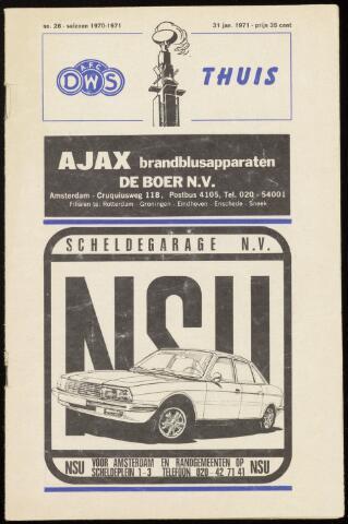 Programmaboekjes (vanaf 1934) 1971-01-31