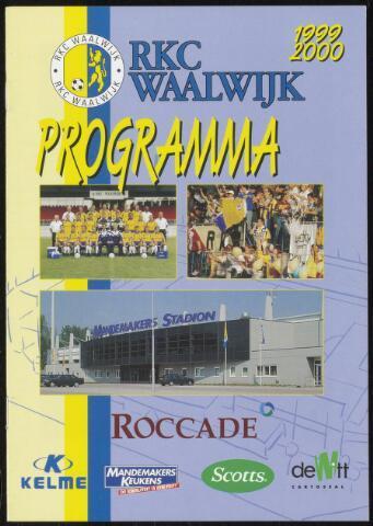 Programmaboekjes (vanaf 1934) 1999-09-19