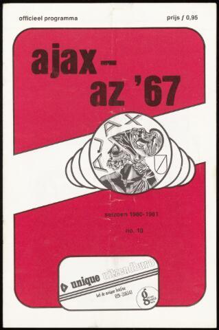 Programmaboekjes (vanaf 1934) 1980-10-18