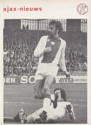Clubnieuws Ajax (vanaf 1916) 1976-11-01