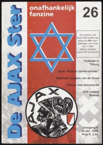 Fanzine De Ajax Ster (1996-2001) 1999-10-29