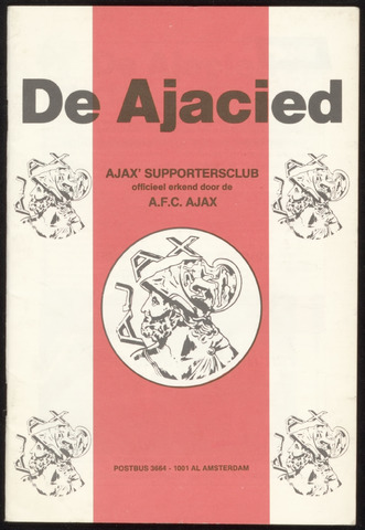 Clubblad De Ajacied (1997-2009) 1982
