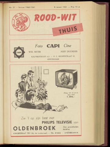 Programmaboekjes (vanaf 1934) 1961-01-08