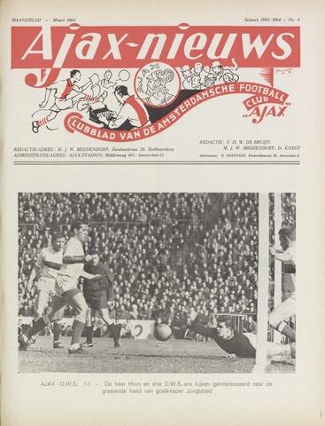 Clubnieuws Ajax (vanaf 1916) 1964-03-01