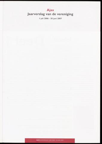 Jaarverslagen Vereniging (vanaf 1964) 2007-06-30