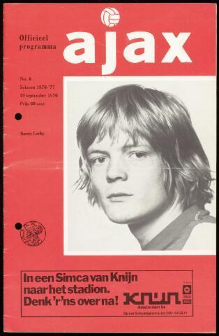 Programmaboekjes (vanaf 1934) 1976-09-19